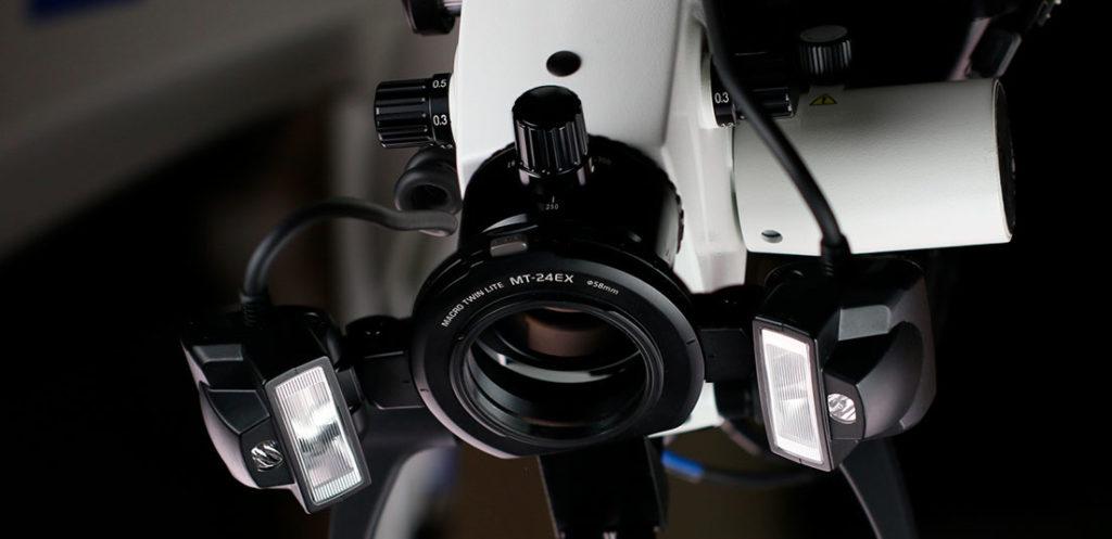 Mikroskop speilrefleks kamera
